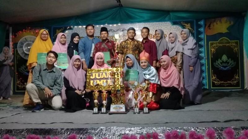 MAN 1 Pringsewu juara umum Festival Pesantren di Ma'had Al-Jamiah UIN Raden Intan Lampung. (Foto: MAN 1 Pringsewu)