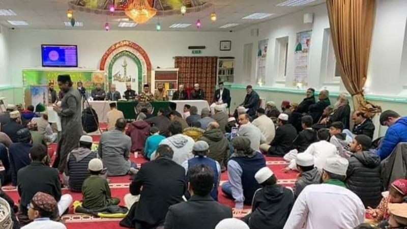 Peringatan Maulid, Shalawat Nabi Bergema di Inggris Raya