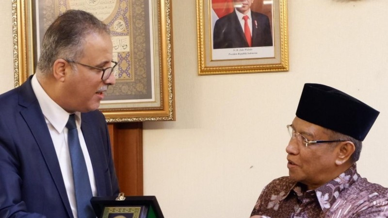 Terima Kunjungan Dubes Tunisia, Kiai Said Jelaskan Kekuatan Indonesia