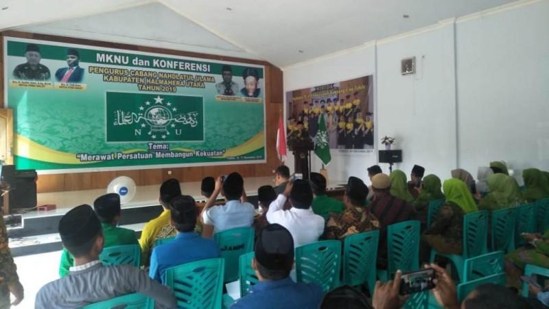 PCNU Halmahera Utara Gelar Madrasah Kader dan Konfercab Perdana