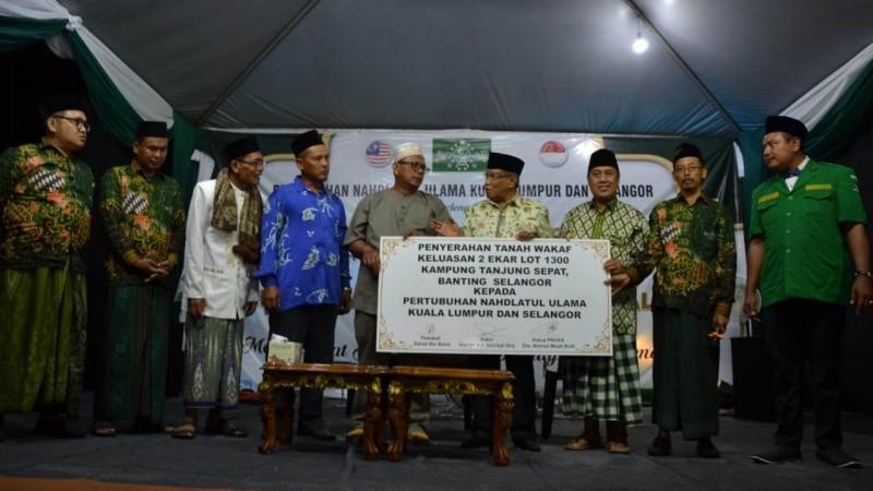 NU Malaysia Terima Bantuan Tanah untuk Bangun Pesantren di Kuala Lumpur