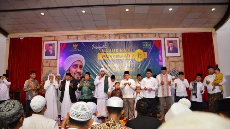 Dihadiri Habib Syech, PCINU Arab Saudi-KJRI Jeddah Selenggarakan Maulid Nabi