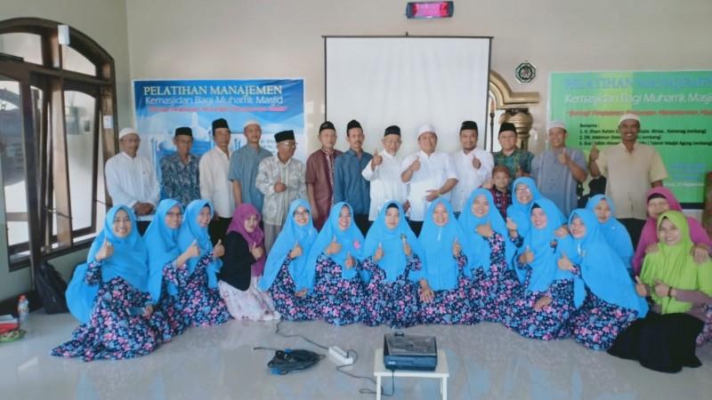 Takmir Masjid di Jombang Peringati Maulid dengan Pelatihan Manajemen Kemasjidan