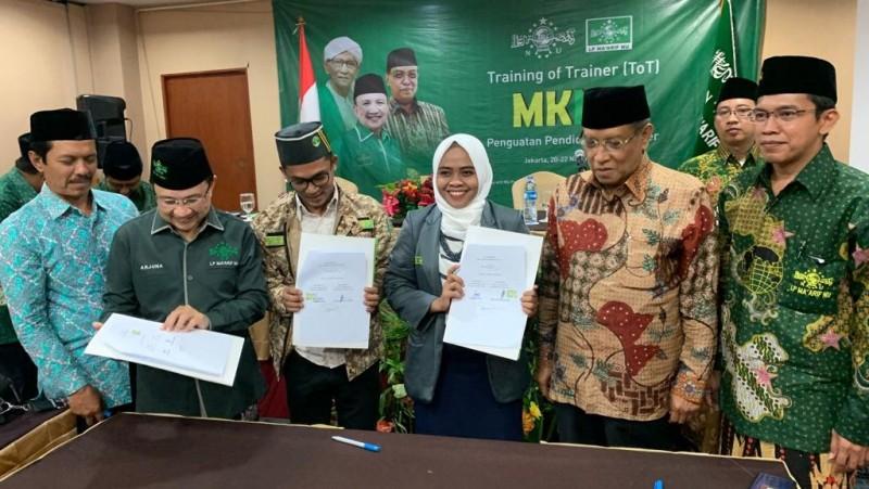 IPNU-IPPNU Teken MoU dengan LP Maarif tentang Pendirian Komisariat