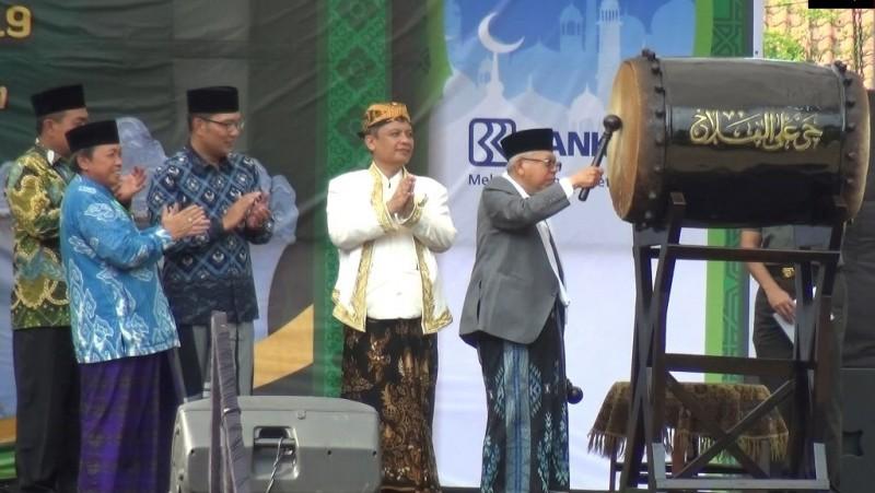 Buka Festival Tajug, Wapres KH Ma'ruf Amin: Masjid Jangan Sebar Kebencian