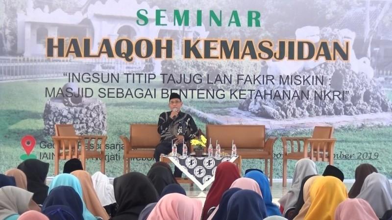 Rektor IAIN Syekh Nurjati: Tajug Cikal Bakal Perguruan Tinggi Islam