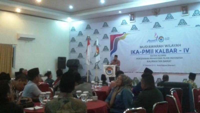 Musyawarah Wilayah (Muswil) IKA PMII Kalimantan Barat.