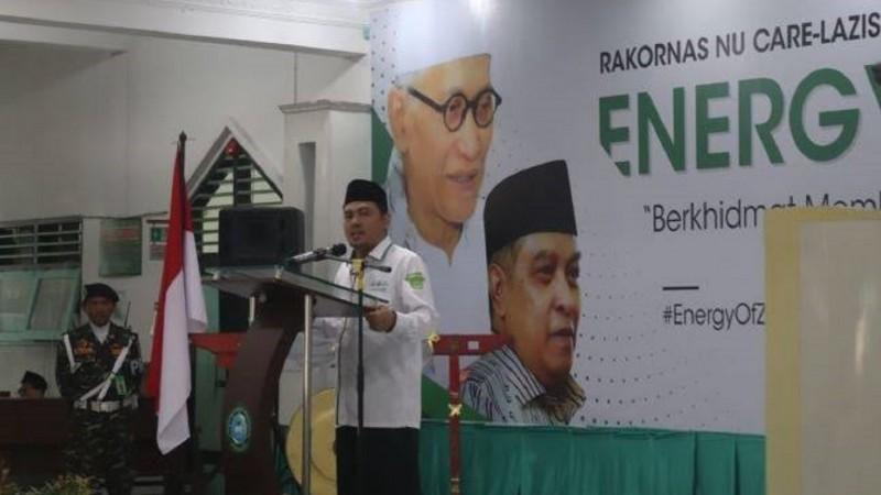 LAZISNU Ajak Nadhliyin Gotong Royong, Sukseskan Muktamar NU Ke-34