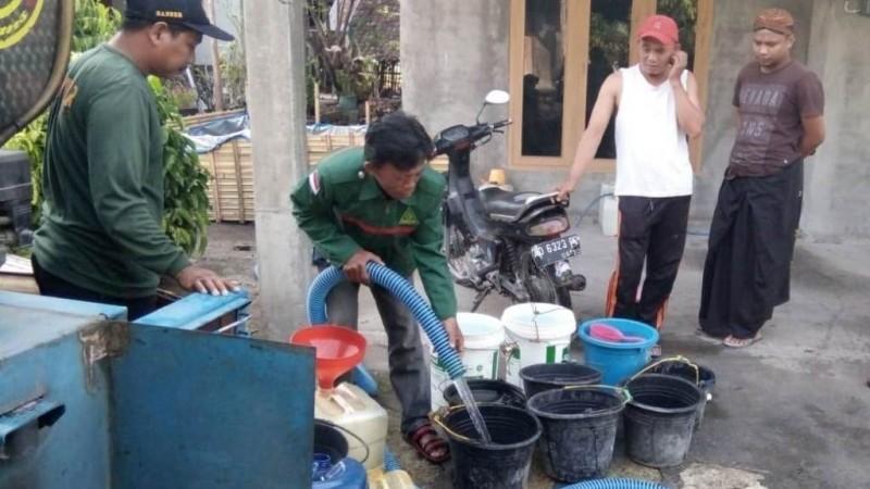 Nahdliyin Bayat Klaten Salurkan 96 Ribu Liter Air Bersih untuk Warga Terdampak Kekeringan