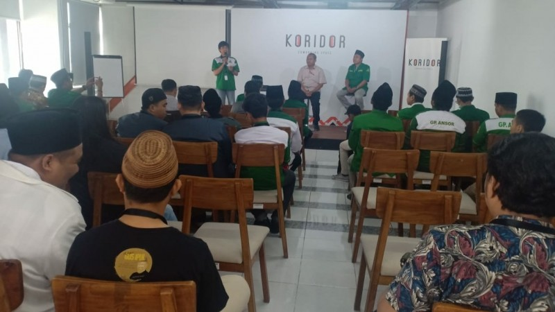 Belajar Literasi Digital, Tekad Ansor Surabaya Tangkal Hoaks