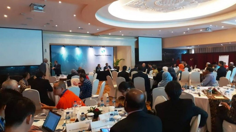Suasana diskusi pada forum dialog regional di Hotel Borobudur, Jakarta Pusat, Rabu (18/12) (NU Online/Husni Sahal)