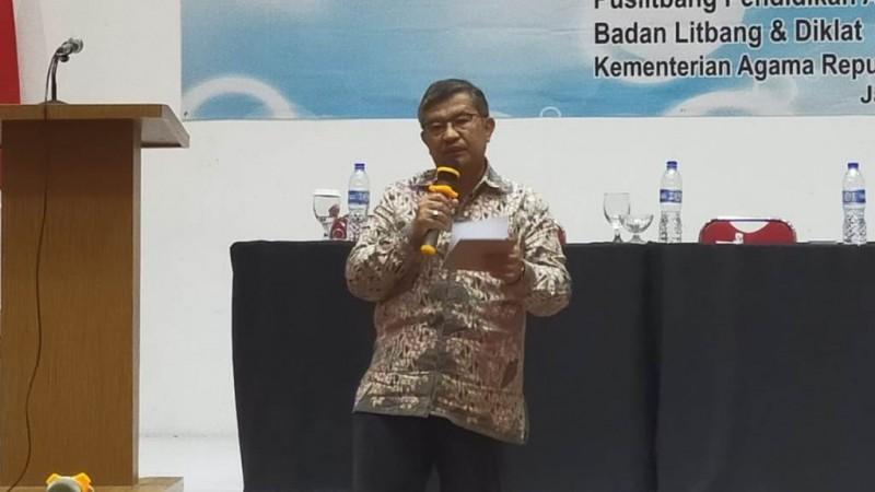 Kapus Litbang Pendidikan Agama dan Keagamaan H Amsal Bachtiar (Foto: NU Online/Kendi Setiawan)