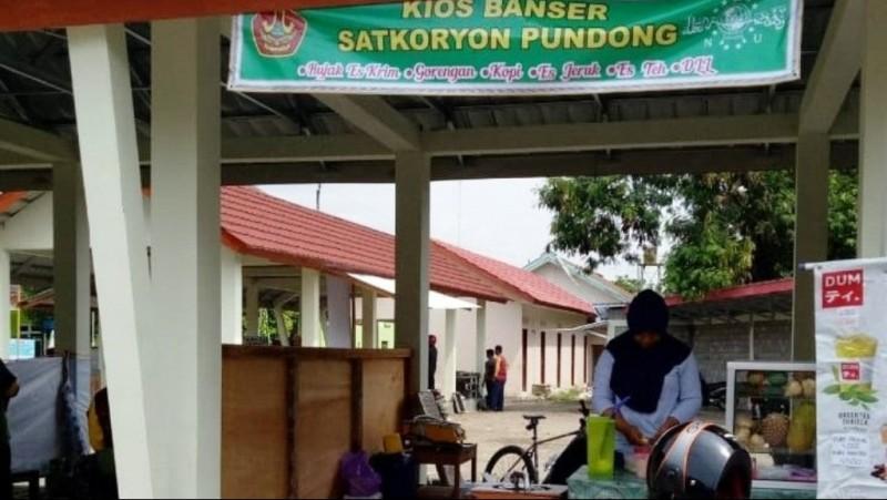 NU Care-LAZISNU Pundong Fasilitasi Banser Buka Warung