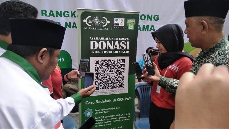 Permudah Muzakki, LAZISNU Surabaya Kenalkan Dompet Digital