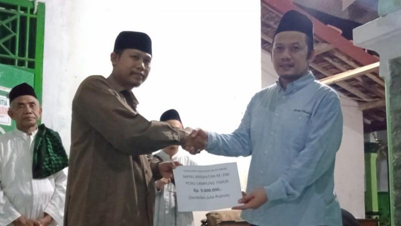 Aksi Spontan Peserta MKNU Angkatan ke-200 Sukseskan Koin Muktamar