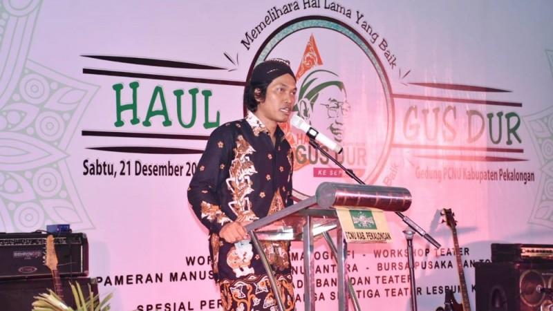 Gelar Haul Gus Dur, Lesbumi Pekalongan Ajak Masyarakat Berantas Togel