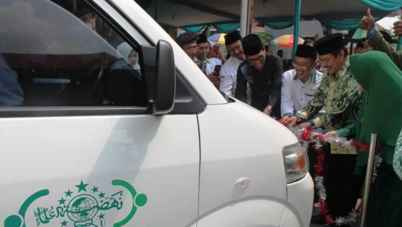Dari Gerakan Koin NU, LAZISNU di Sidoarjo Sediakan Ambulans Gratis