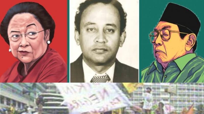 Menjerat Gus Dur: Skenario 'Semut Merah' Fuad Bawazier dan Rencana Menikung Megawati