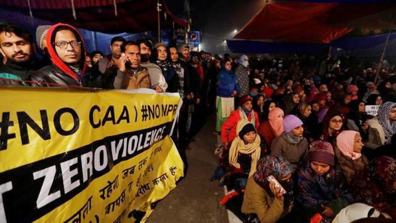 Warga India Sambut Tahun Baru dengan Aksi Protes UU Kewarganegaraan