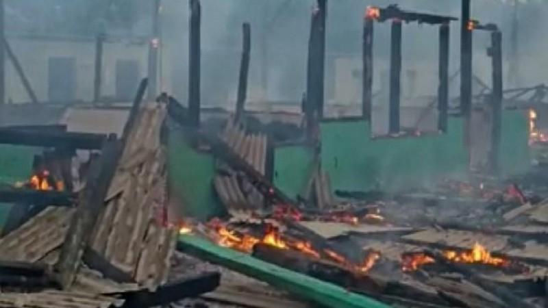 Pesantren Irsyadul Ibad Lampung Timur Terbakar, Warga NU Galang Donasi