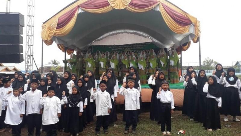 Muslimat NU Membumi di Labuhan Maringgai, Lampung Timur