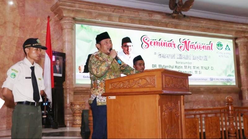 Wali Kota Tegal: Indonesia Butuh Pemuda dengan Semangat Solidaritas