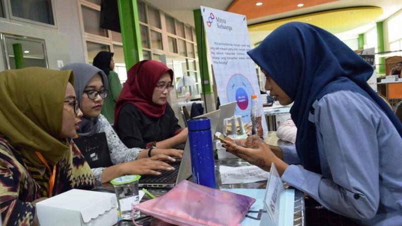 Fasilitasi dengan Dunia Kerja, Unusa Gelar Job Fair Pertama
