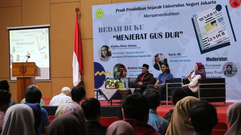 Buku 'Menjerat Gus Dur' Dibedah di Universitas Negeri Jakarta