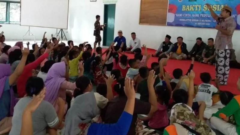 LTM PBNU Bantu Warga Terdampak Banjir di Lebak Banten