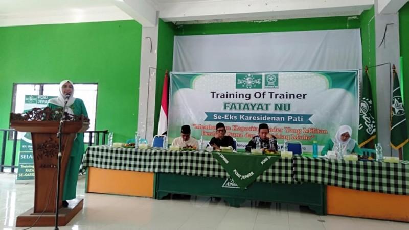 Fatayat NU Siapkan Kader Pelatih Andal dan Multi Talenta