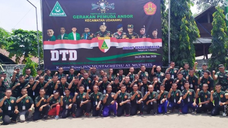 Diklat Terpadu Dasar(DTD) ke-44 Ansor Banser. Kegiatan diselenggarakan Satkorcab Banser Kabupaten Blitar, Jawa Timur. (Foto: NU Online/Ibnu N)