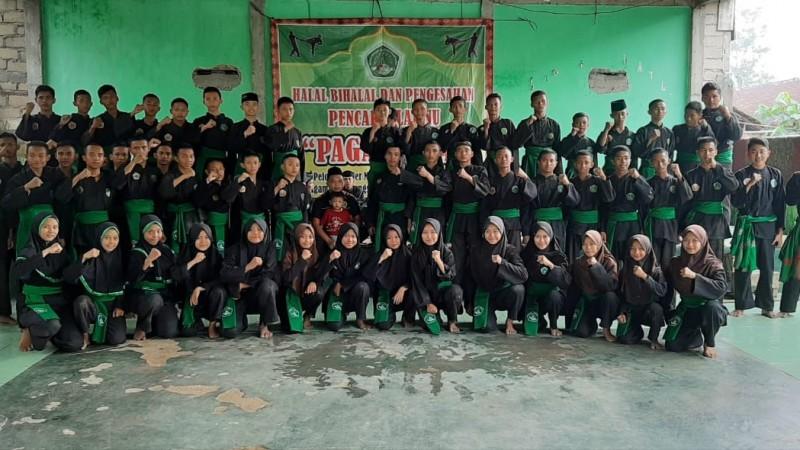Sukseskan Muktamar, Pendekar Pagar Nusa Lampung Ikuti UKT Angkatan Ke-29
