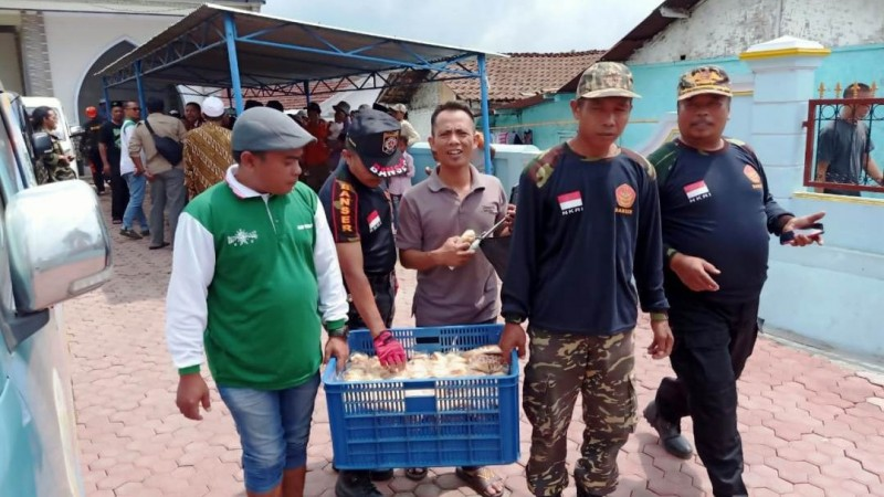 NU Bondowoso Bersinergi Bantu Korban Banjir Bandang di Kawasan Ijen