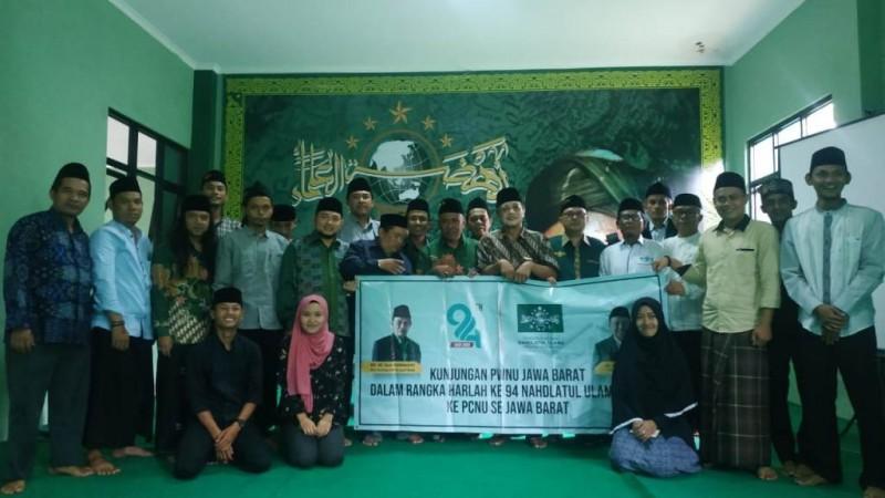 PWNU Jabar Siap Bantu Papan Nama untuk Ranting NU Kabupaten Sukabumi