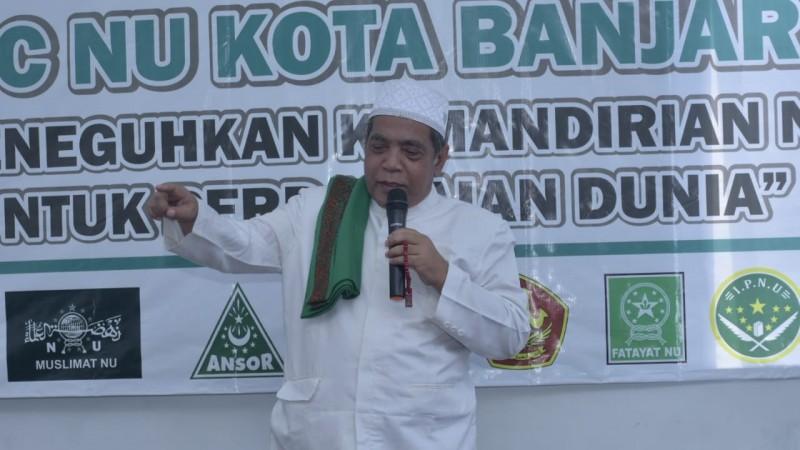 PCNU Banjar: Kemandirian Organisasi Harus Diperjuangkan