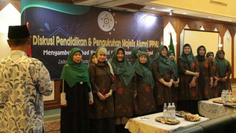 Dikukuhkan, Ini Pengurus Majelis Alumni IPPNU