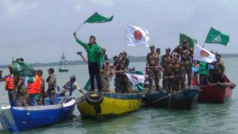 Konvoi Perahu, Cara Ansor Gresik Napak Tilasi Pendahulu