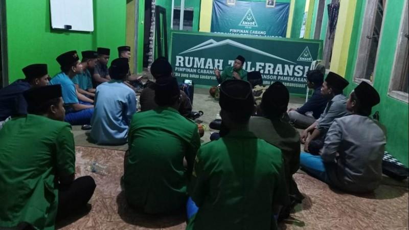 Cerahkan Umat, GP Ansor Pamekasan Hadirkan Program Ngèmanin