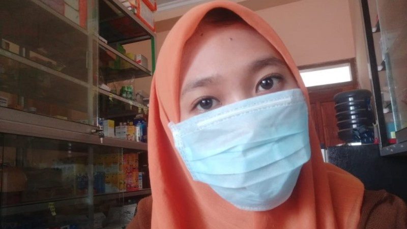 Masker Langka di Pantura Picu Bingung Warga
