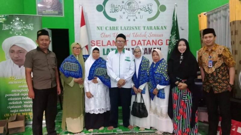 Terjalin kerja sama antara PC LAZISNU dan BKMT Tarakan bagi penyebaran Koin NU. (Foto: NU Online/Fahmi Syam)