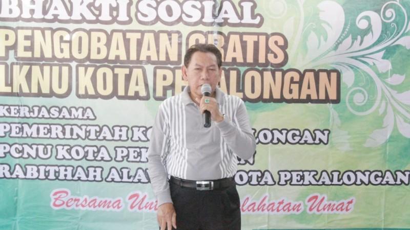 Pengobatan Gratis LKNU, Wali Kota: Pemkot Sangat Terbantu
