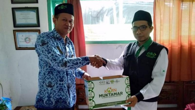 Datangi Majelis Taklim dan Madrasah, Sosialisasi Koin Muktamar Purbalingga