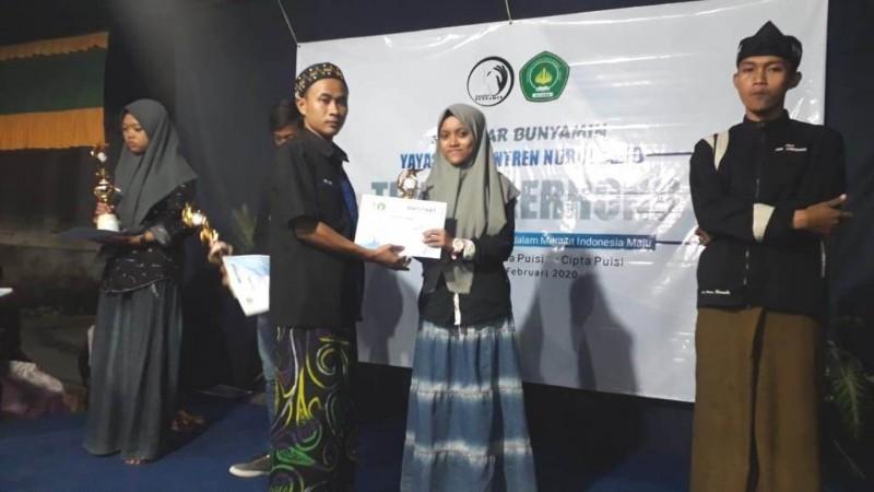 Kader PMII Guluk-Guluk Borong Juara Cipta Baca Puisi Se-Madura