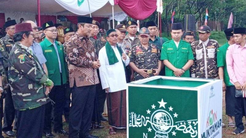 Mudir Aam Jatman Luncurkan Koin Muktamar di Semarang