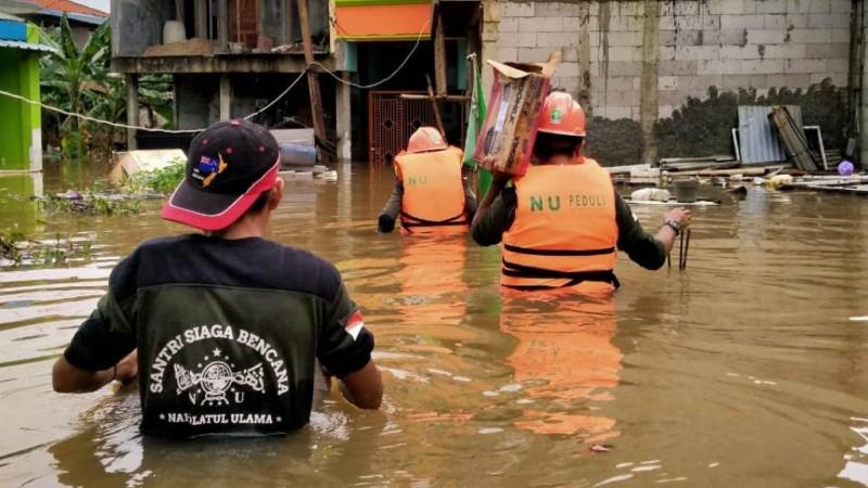 NU Peduli Buka Donasi untuk Korban Banjir Jakarta dan Sekitarnya
