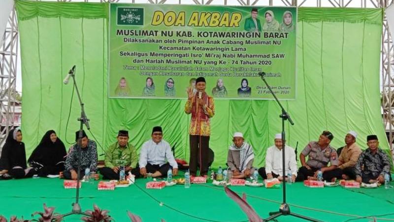 Muslimat NU Kalteng: Doa Bersama untuk Keutuhan NKRI