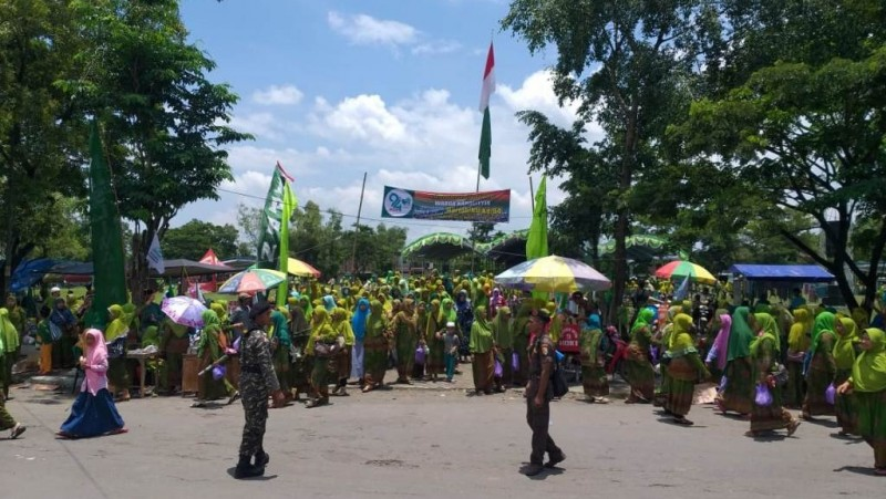 Kekompakan Nahdliyin Kedungalar Ngawi Peringati Harlah NU