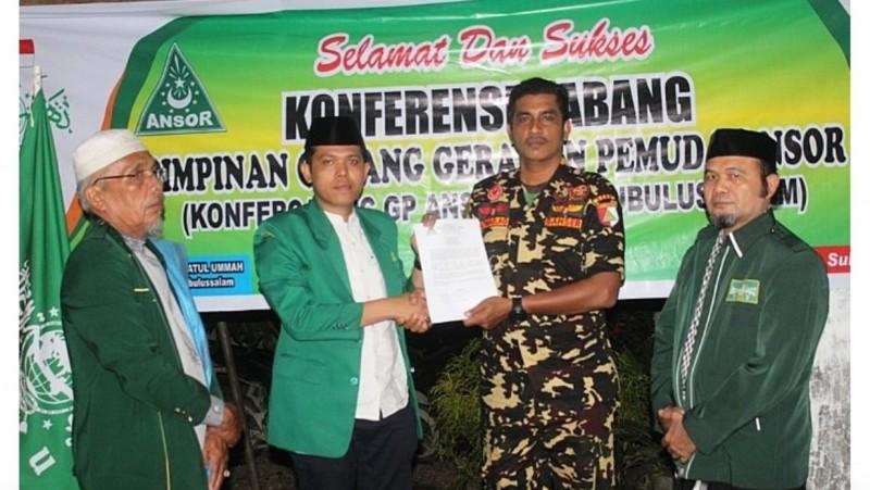 Pimpin Kembali GP Ansor Subulussalam Aceh, Baginda Perkuat Diklat