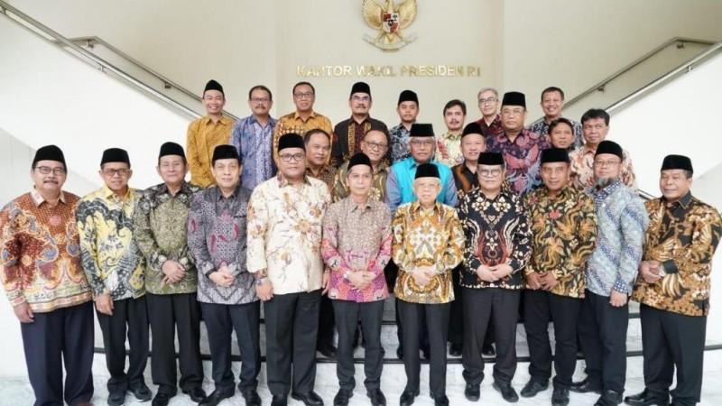 Forum Rektor Penguat Karakter Bangsa Temui Wapres
