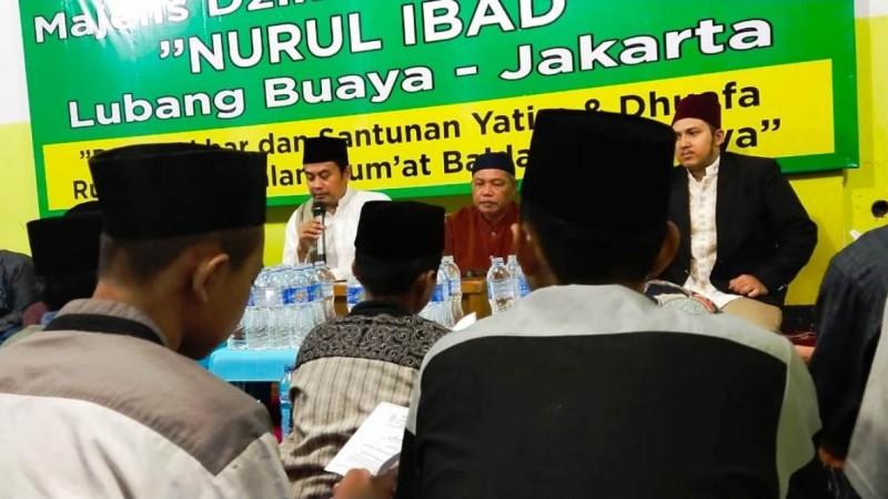 Antisipasi Virus Corona, Santri Nurul Ibad Baca Shalawat Tibbil Qulub